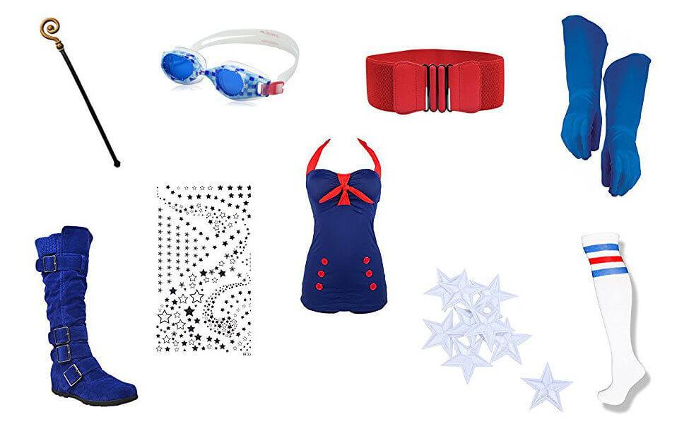 Bombshell Stargirl Costume