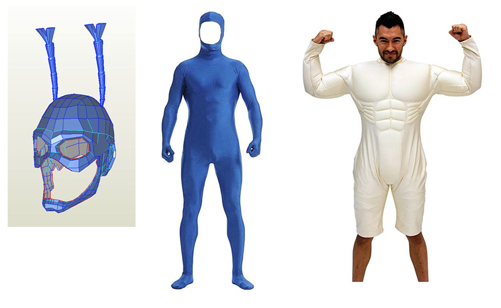 The Tick Costume