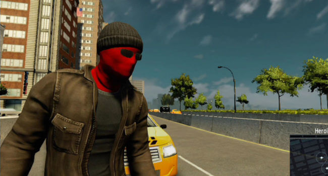 Vigilante Suit Spider-Man