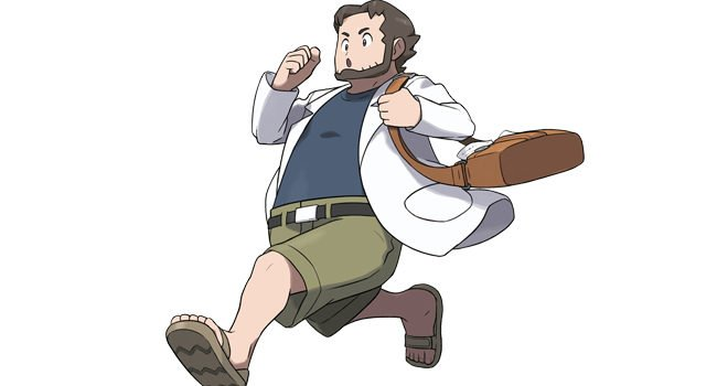 Professor Birch in Pokémon