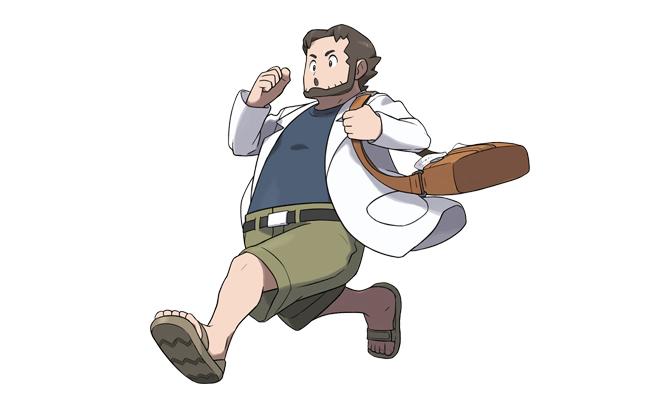 Professor Birch in Pokémon