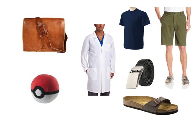 Professor Birch in Pokémon Costume