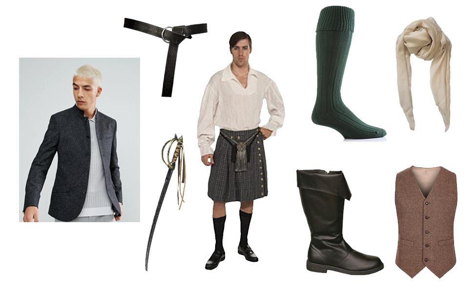 Jamie Fraser Costume