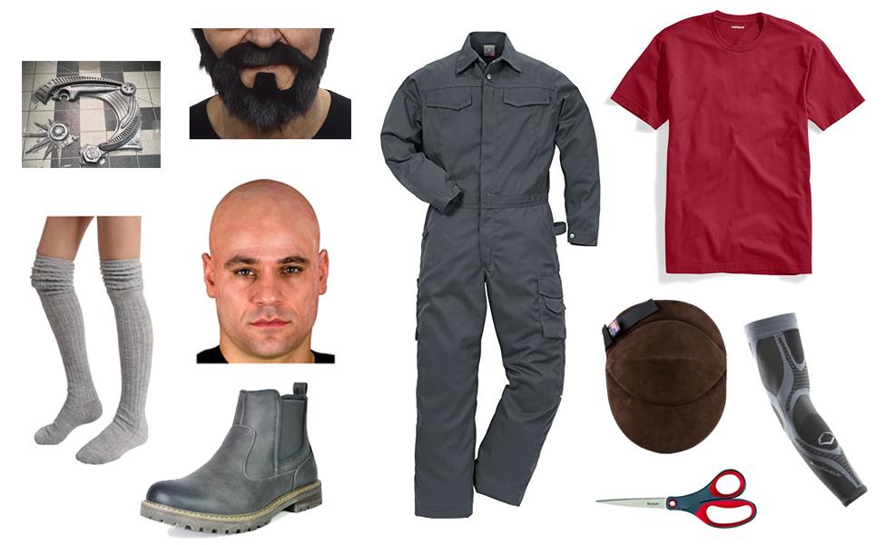 Jet Black Costume