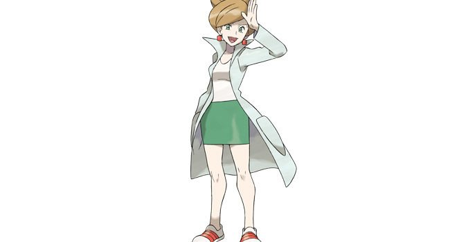 Professor Juniper in Pokémon