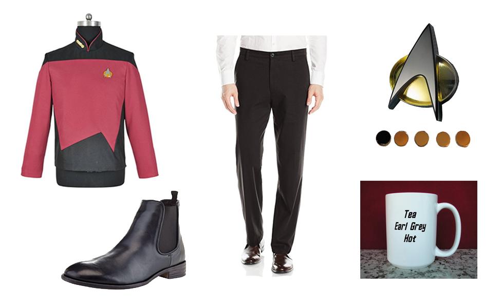 Captain Jean-Luc Picard Costume