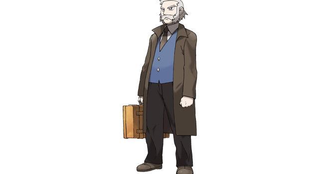 Professor Rowan in Pokémon