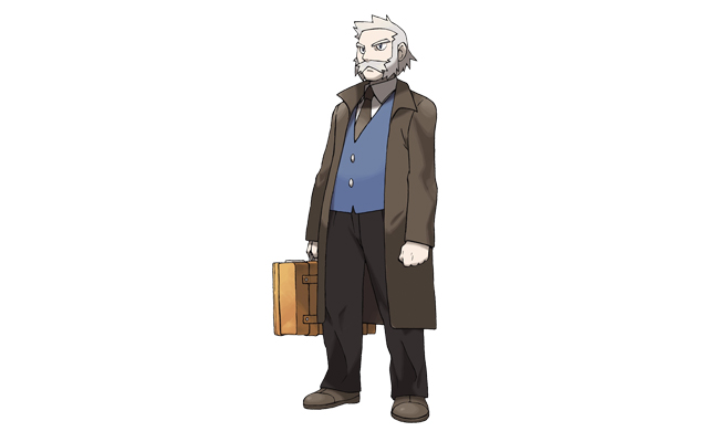 Professor Rowan in Pokémon