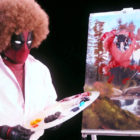 Bob Ross Deadpool