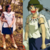 San from Princess Mononoke Cosplay Comparison