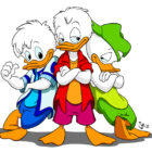 Huey, Dewey, and Louis from Quack Pack