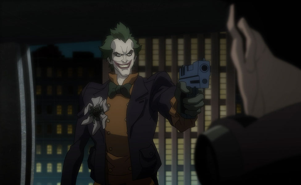Joker from Batman: Assault on Arkham