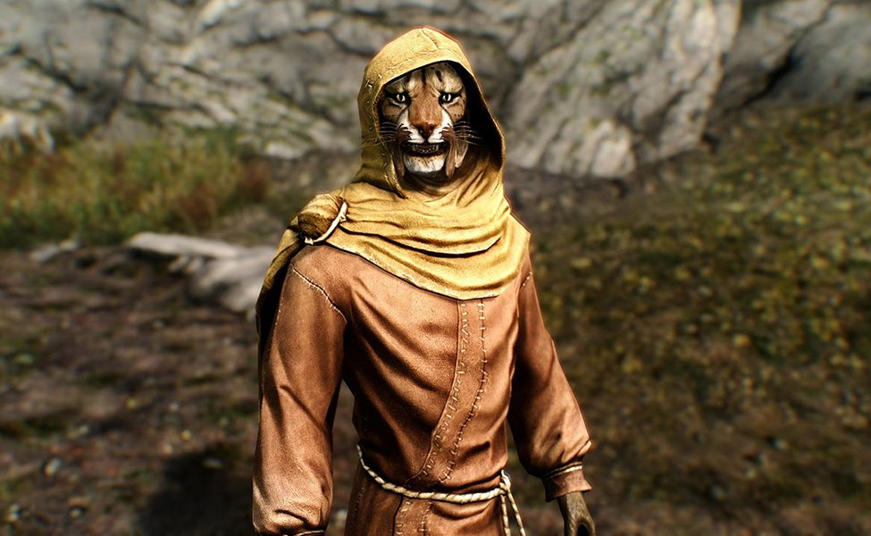 M'aiq the Liar from Skyrim