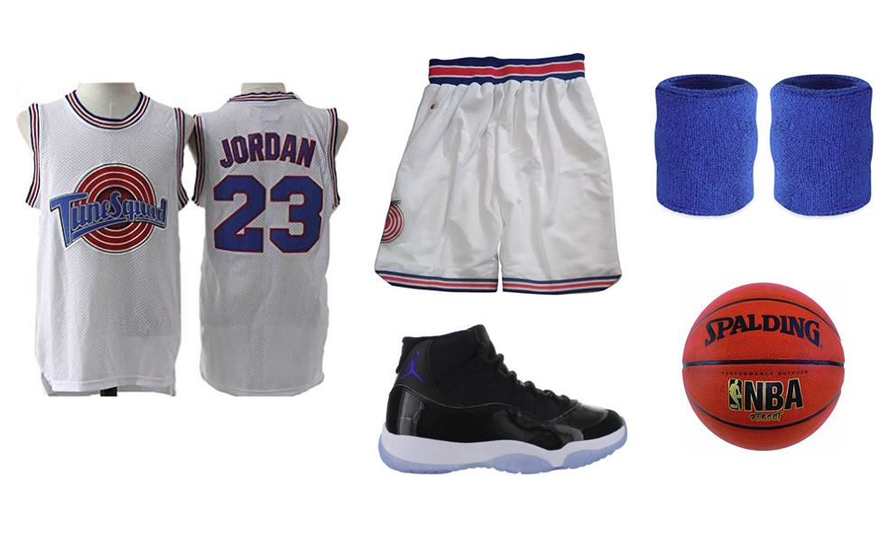 sneakers for cheap 00997 4e86d Michael Jordan in Space Jam Costume | DIY Guides for Cosplay ...