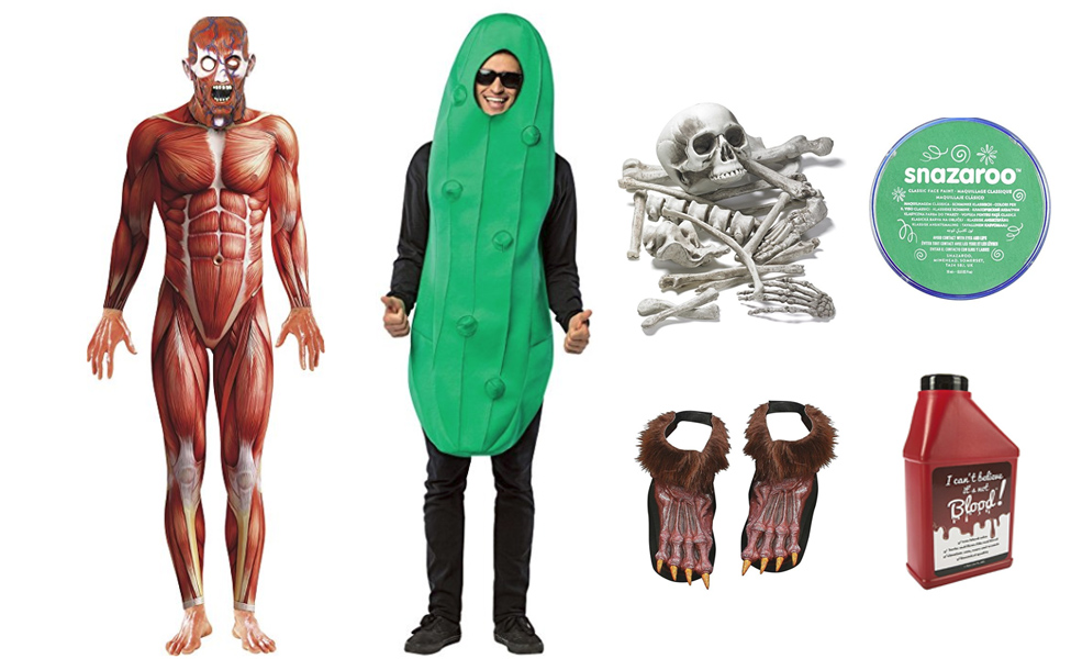 Pickle Rick Costume