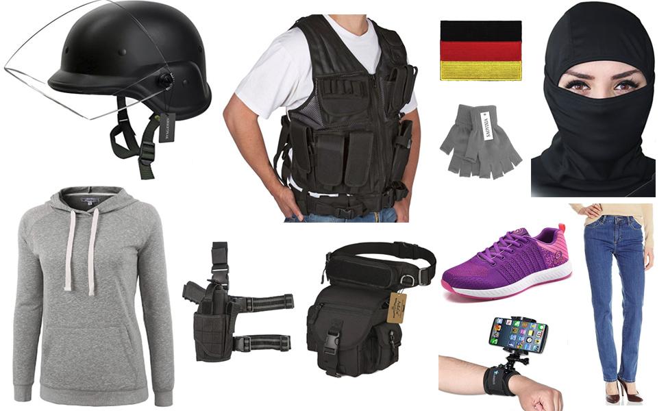 IQ From Rainbow Six Siege Costume