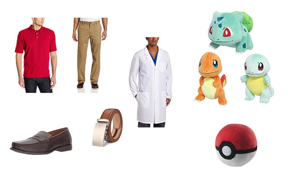 Professor Oak in Pokémon Costume