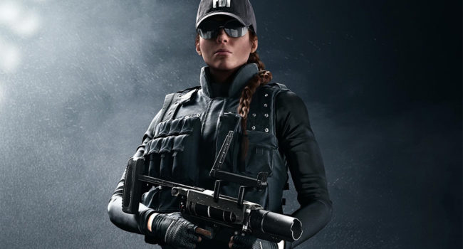 Ash From Rainbow Six Siege