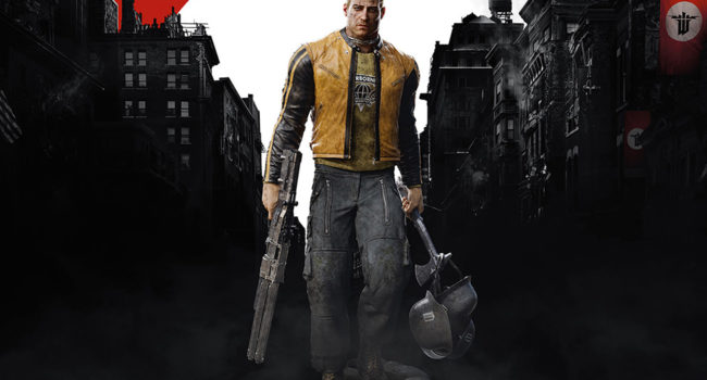 B.J. Blazkowicz from Wolfenstein II: The New Colossus