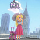 Princess Peach from New Donk City in Super Mario Odyssey