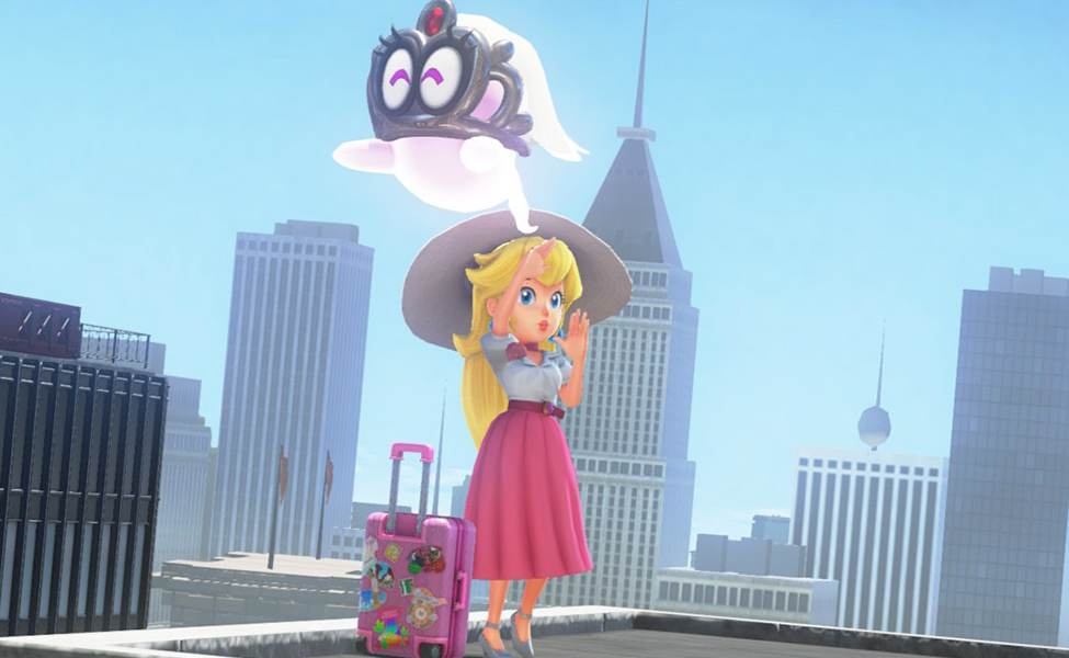 Princess Peach from New Donk City
