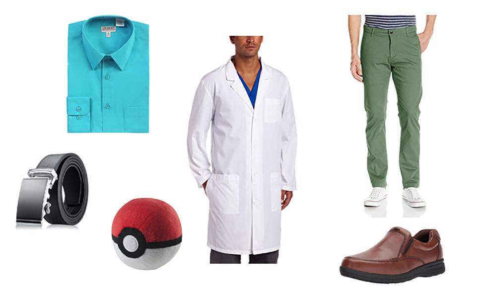 Professor Elm in Pokémon Costume