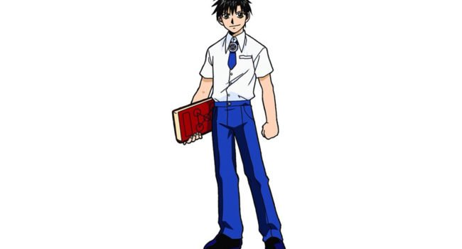 Kiyomaro Takamine from Zatch Bell