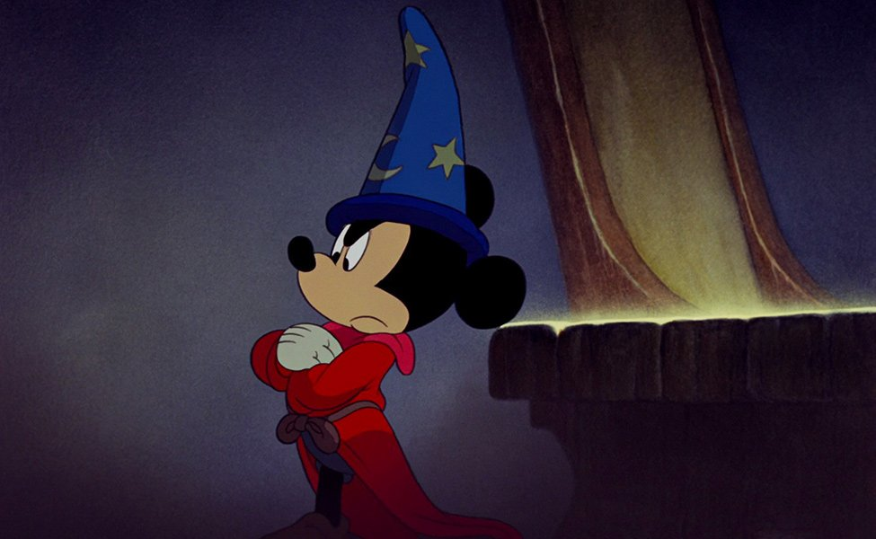 Sorcerer Mickey Mouse from Fantasia