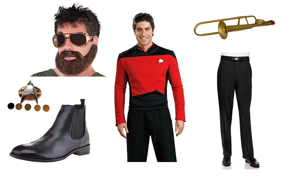 Commander William Riker Costume