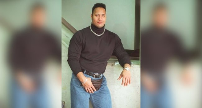 "Old School Dwayne ""The Rock"" Johnson"
