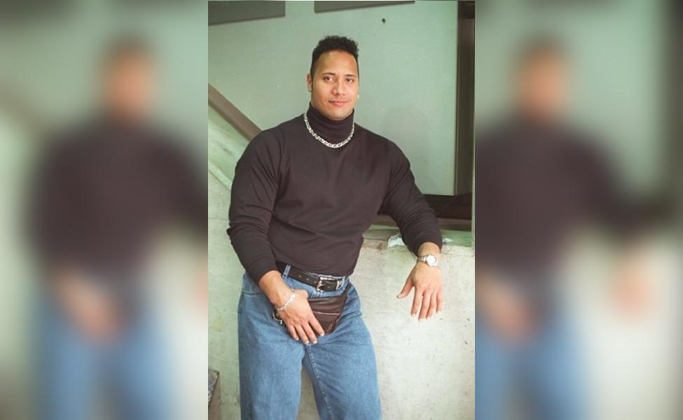 "Old School Dwayne ""The Rock"" Johnson"