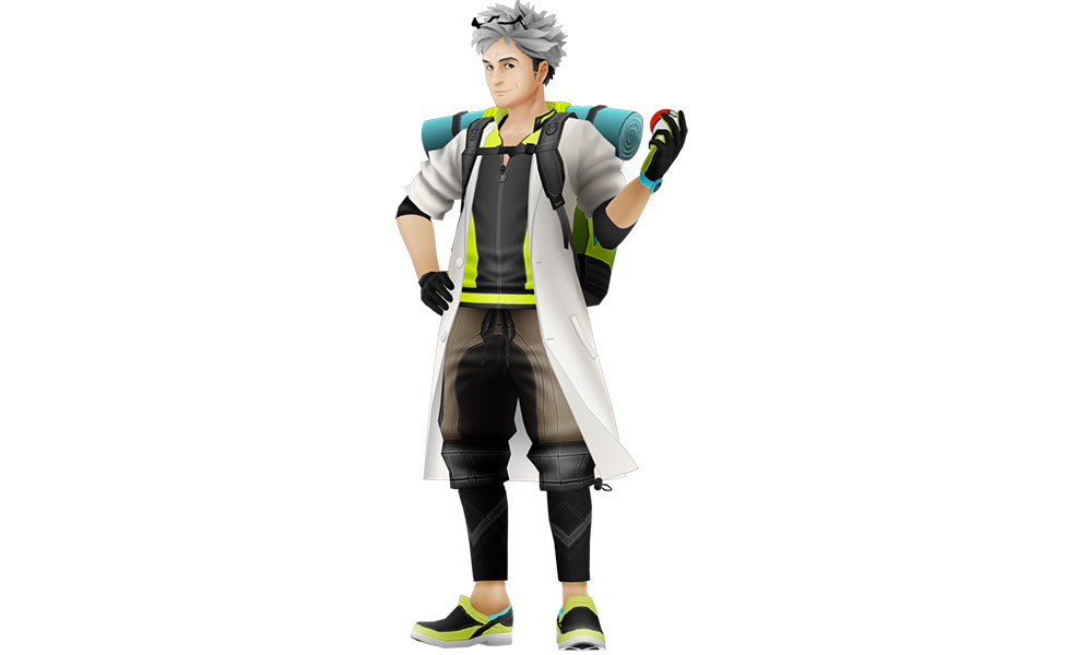 Professor Willow from Pokemon Go