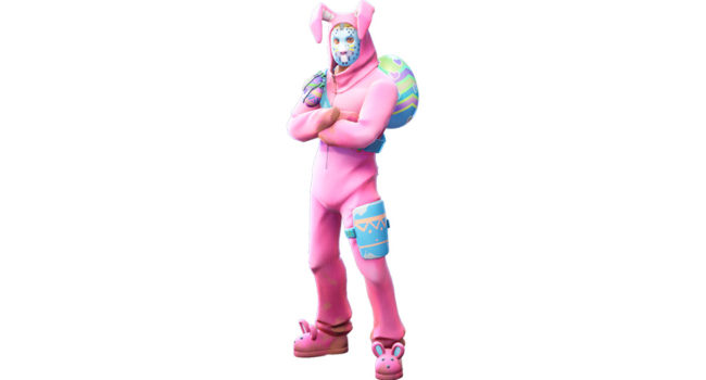 Rabbit Raider from Fortnite