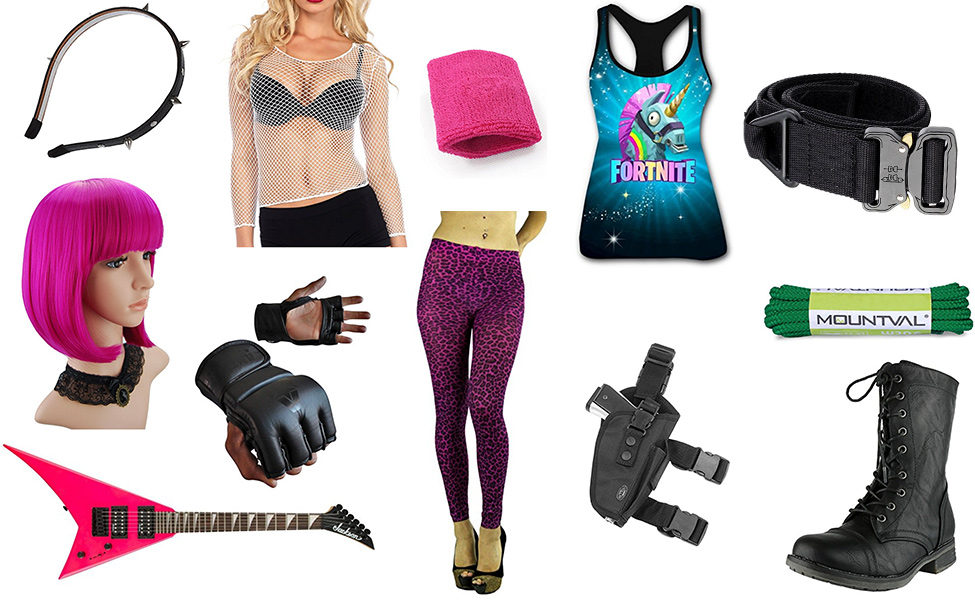 Power Chord from Fortnite Costume