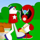 Strong Bad from Homestar Runner