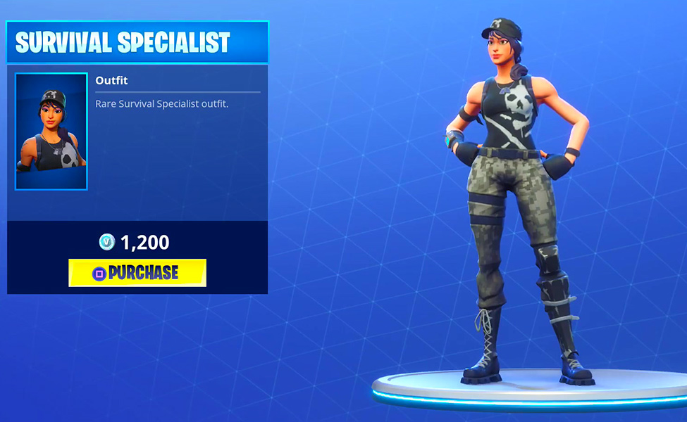 Survival Specialist from Fortnite