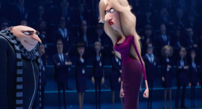 Valerie Da Vinci from Despicable Me 3