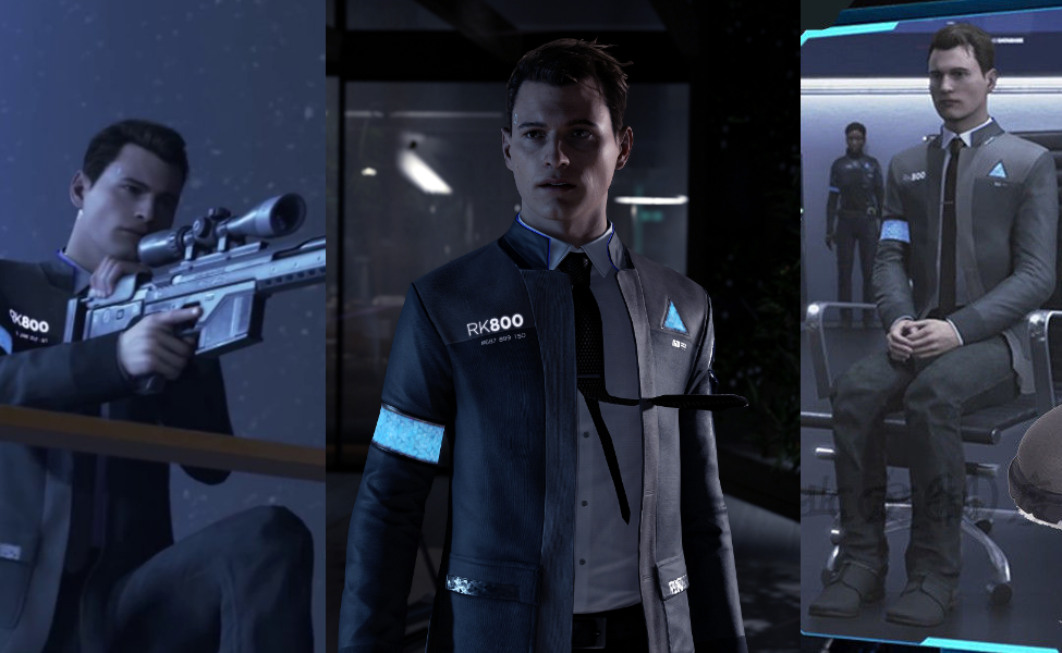 Connor From Detroit Become Human Costume Carbon Costume Diy Dress Up Guides For Cosplay Halloween