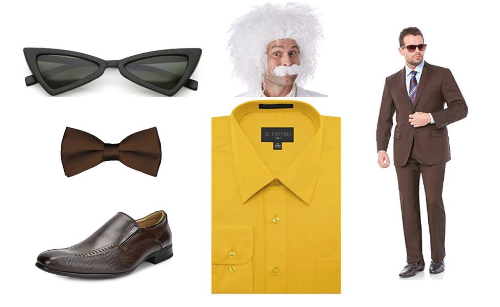Professor Poopypants Costume