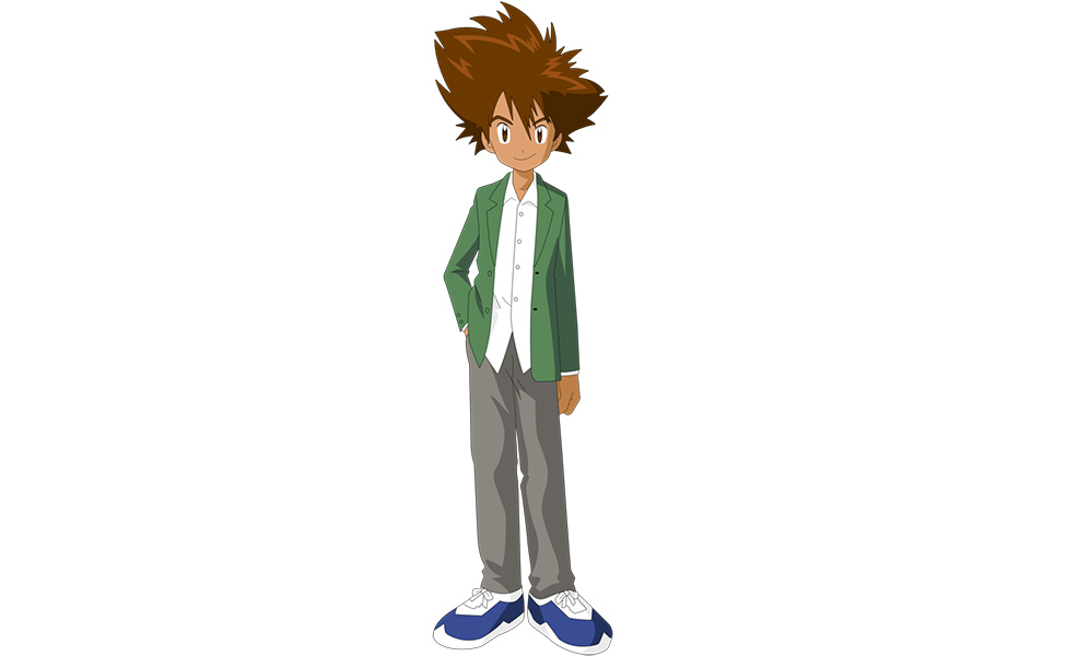 Tai Kamiya from Digimon Adventure 02