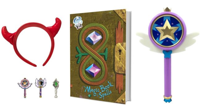 Giveaway for Star vs. the Forces of Evil: The Magic Book of Spells