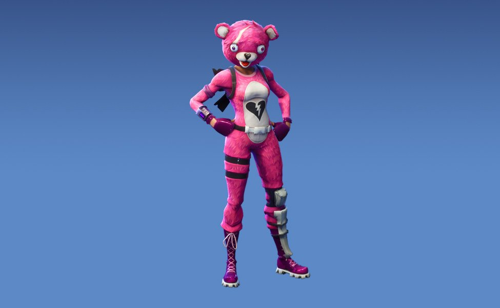 Cuddle Team Leader from Fortnite