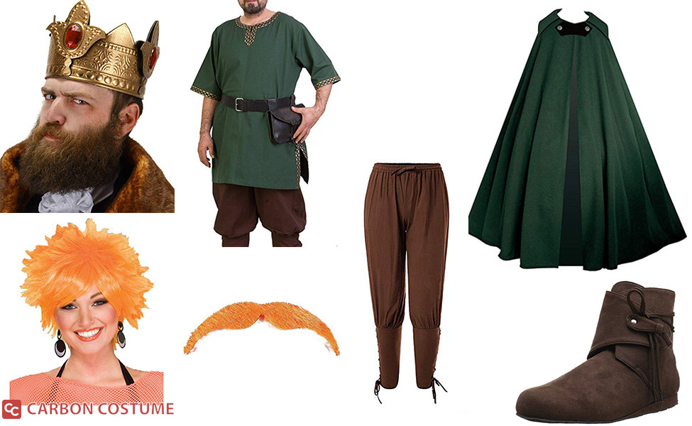 King Zog from Disenchantment Costume