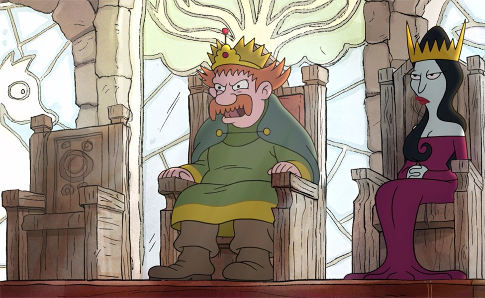 King Zog from Disenchantment