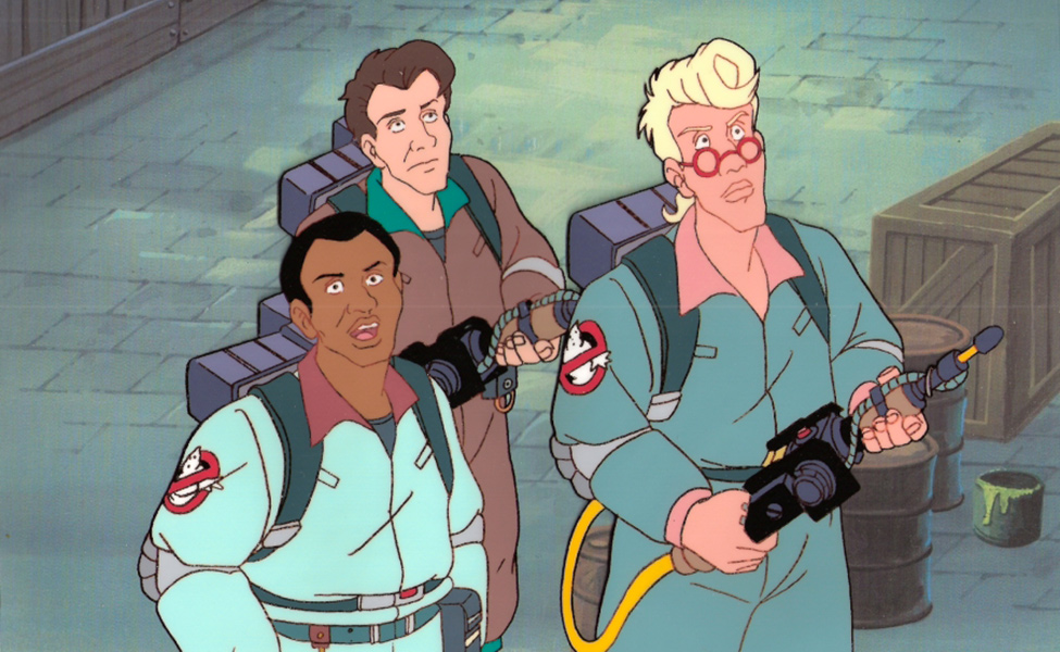 Peter Venkman from The Real Ghostbusters