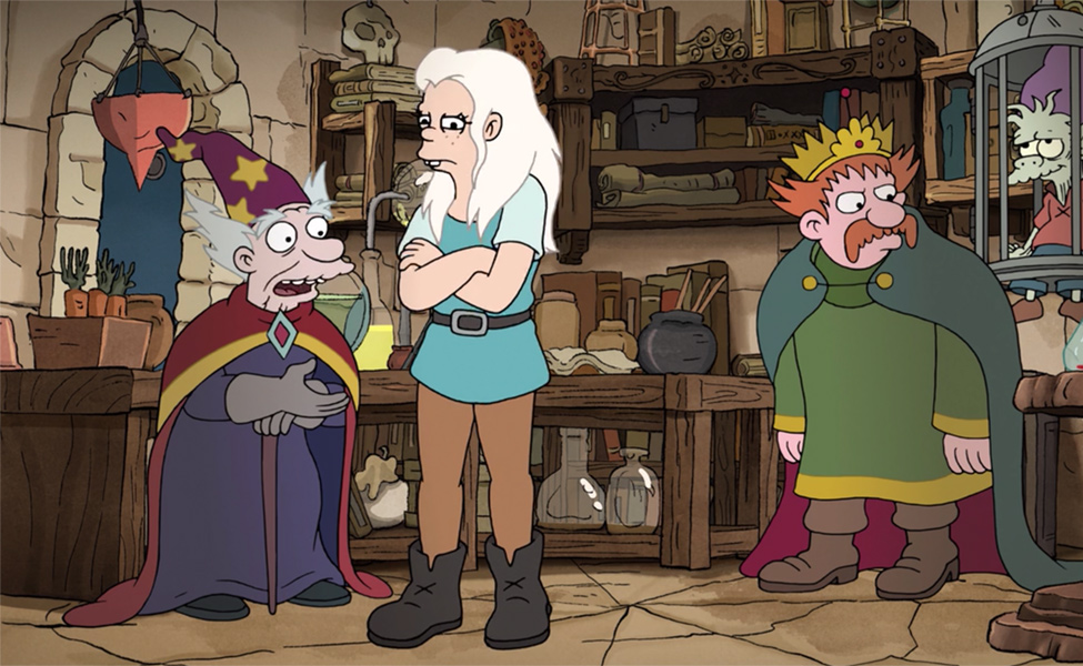 Sorcerio from Disenchantment