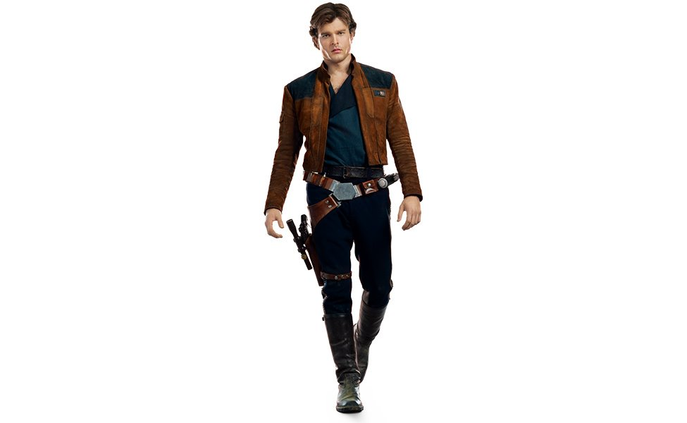 Han Solo from Solo: A Star Wars Story