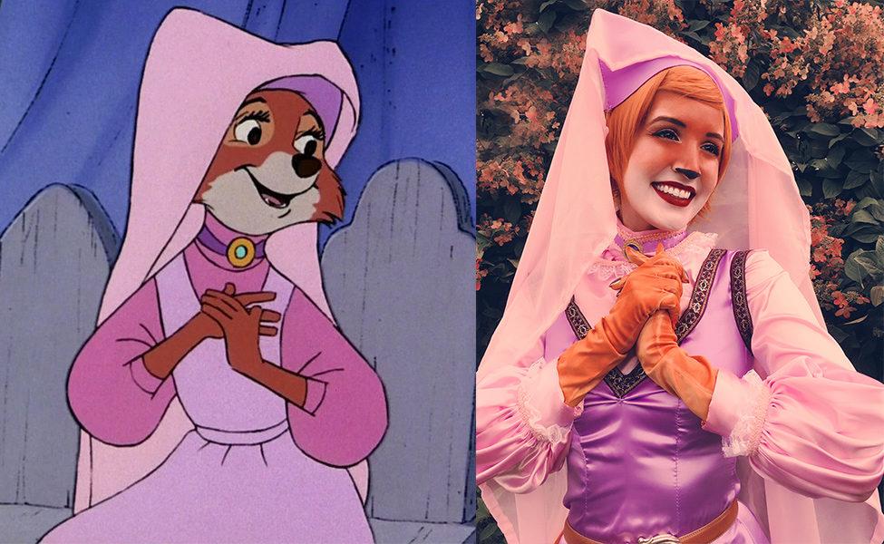 Maid Marian from Robin Hood