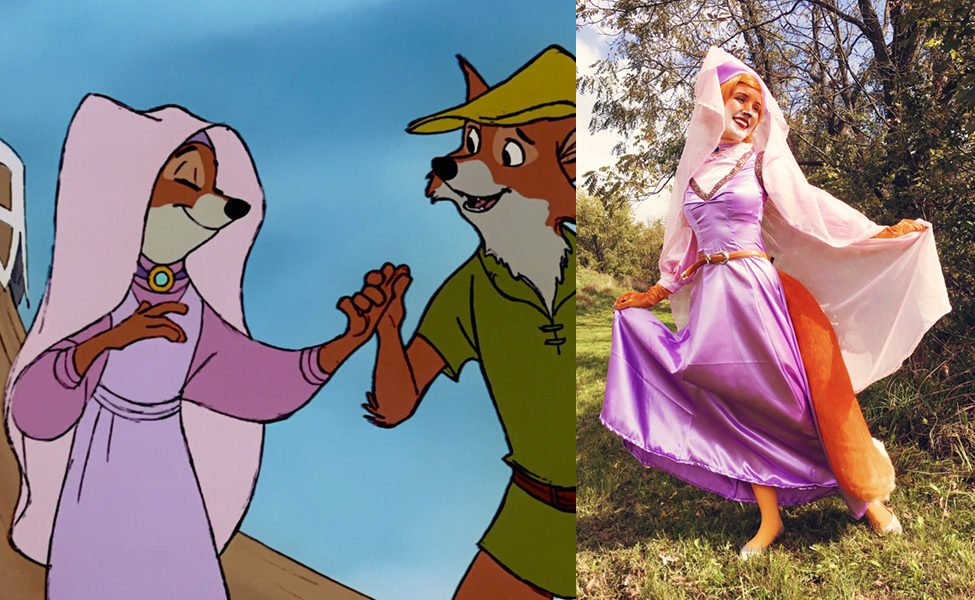 Maid Marian Halloween Costume | Make Your Own Maid Marian From Robin Hood Carbon Costume Diy