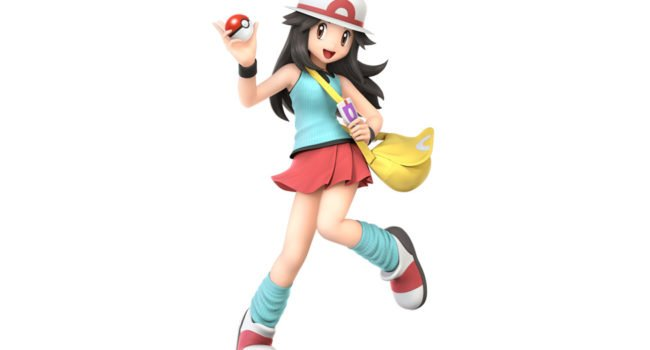 Pokémon Trainer (Leaf Variant) from Super Smash Bros. Ultimate
